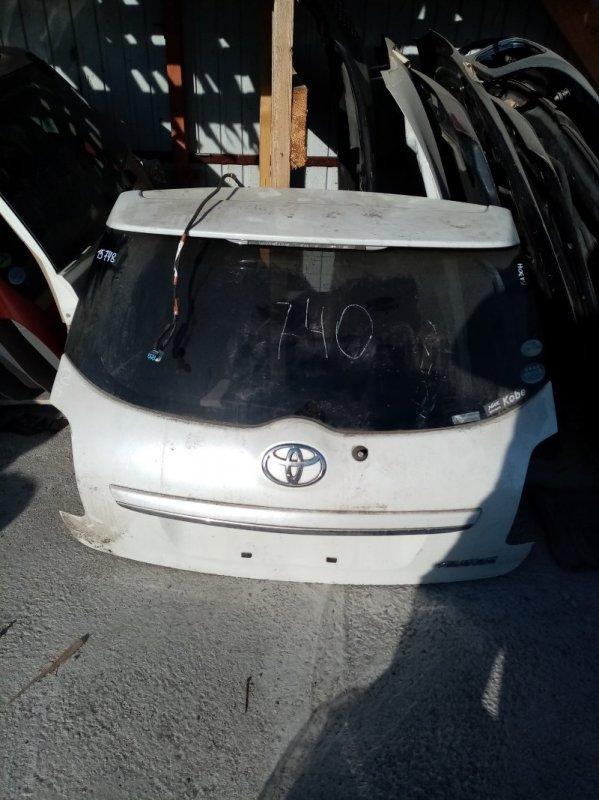 Дверь 5-я Toyota Auris ZRE151