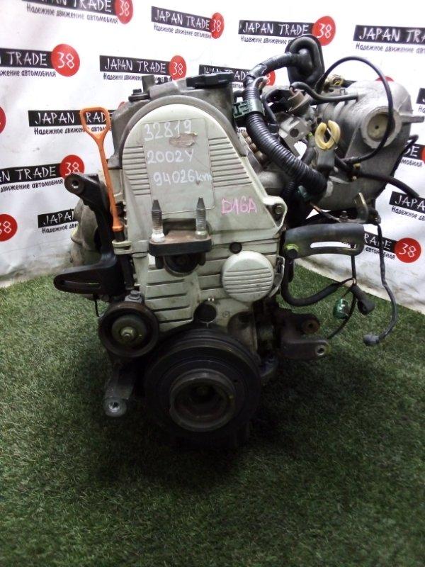 Двигатель Honda Hr-V GH1 D16A 2002