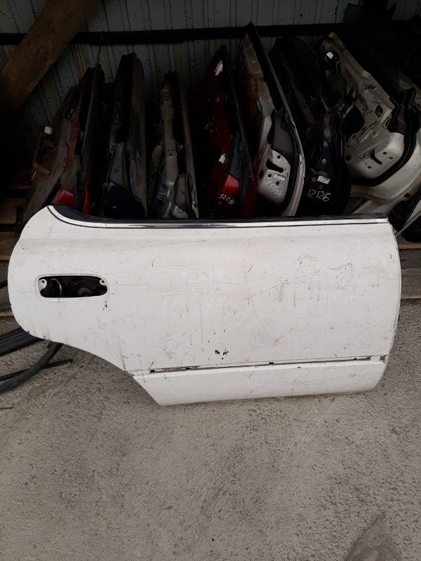 Дверь Toyota Vista SV30 задняя правая