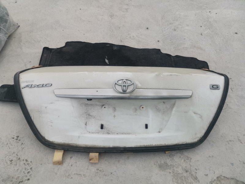 Крышка багажника Toyota Corolla Axio NZE141 1NZ-FE