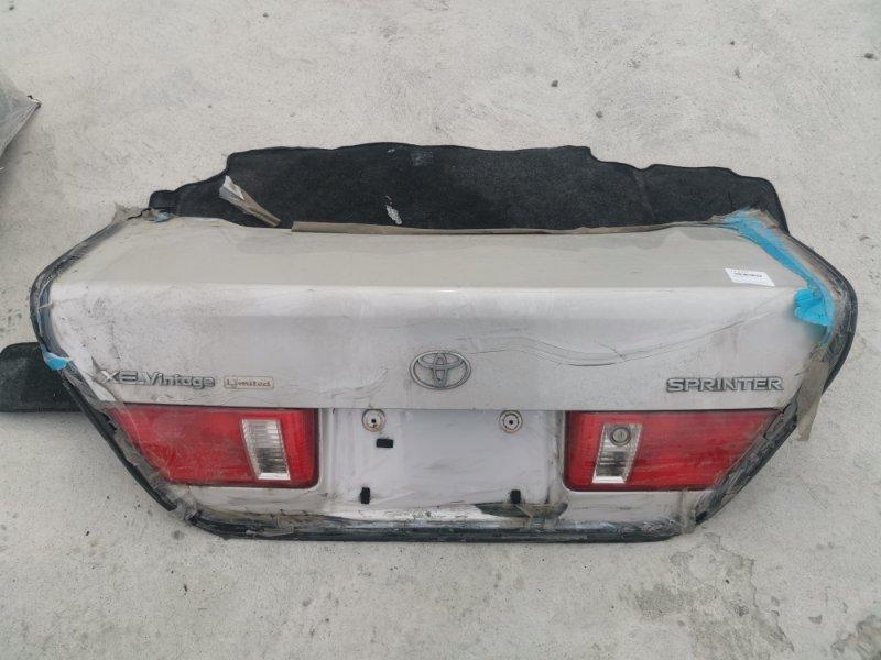 Крышка багажника Toyota Corolla Sprinter AE110 5A-FE. 7A-FE