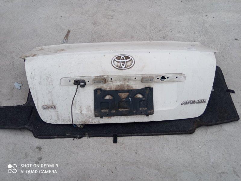 Крышка багажника Toyota Avensis AZT251