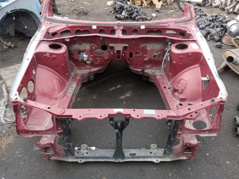 Передняя часть а/м Subaru Forester SG5 EJ203