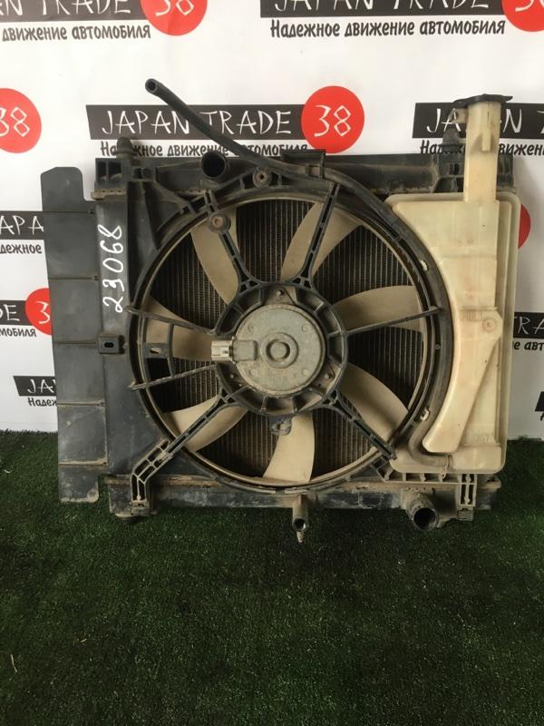 Радиатор охлаждения двигателя Toyota Ractis NCP100 1NZ-FE