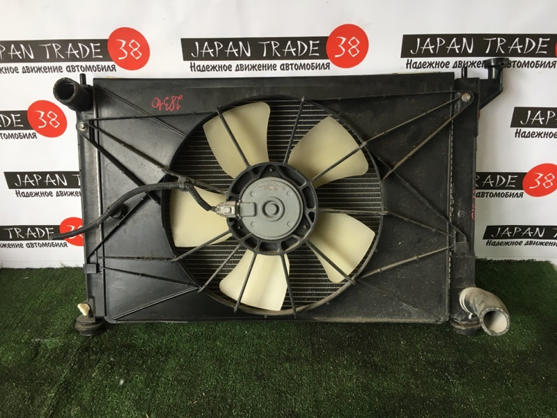Радиатор охлаждения двигателя Toyota Premio ZZT240 1ZZ-FE