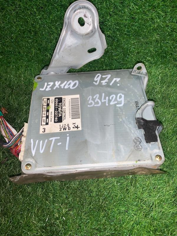 Блок efi Toyota Mark Ii JZX100 1JZ-GE 1997