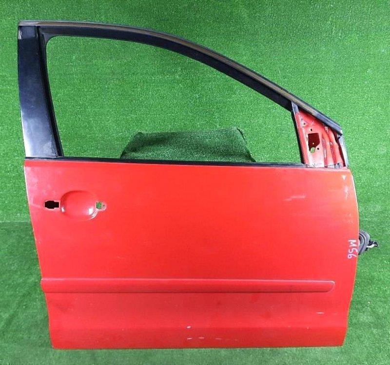 Дверь боковая передн. прав. Volkswagen Polo 9N