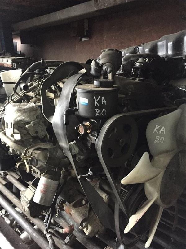Двигатель Nissan Atlas H40 FD35 88