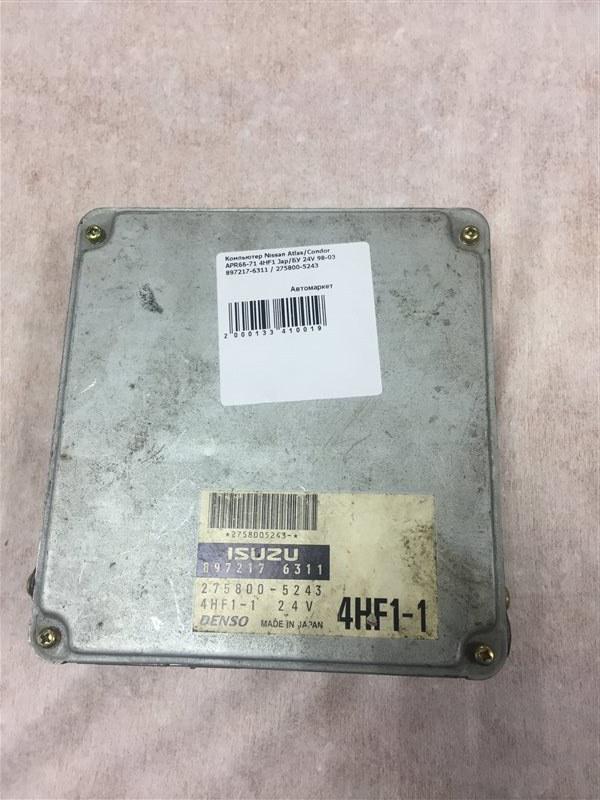 Компьютер Nissan Atlas APR66-71 4HF1 98