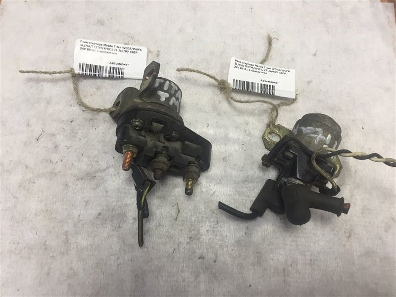 Реле стартера Mazda Titan WGEA/WGFA SL/HA/TF/TM/4HG1/VS 89