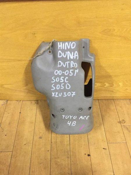 Кожух рулевой колонки Hino Dutro XZU341-411/BU341-411/LY230 S05C/S05D/4B/5L 99 верхний