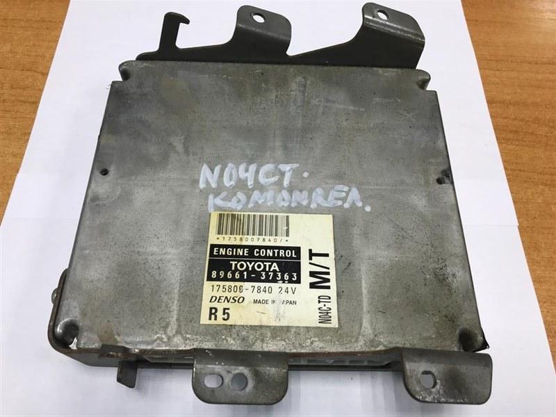 Компьютер Hino Dutro/dyna N04CT 2012