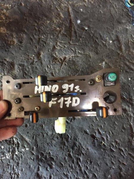 Блок управления печкой Hino Ranger FW1FWA F17D 89