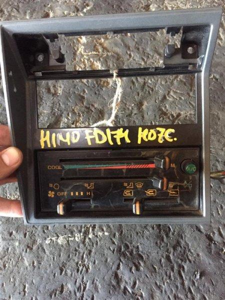 Блок управления печкой Hino Ranger FC3H/FD3H H07C/H07D 89