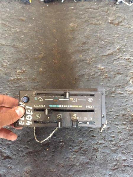Блок управления печкой Isuzu Elf NKR55-58 4BE1/4JB1/4BG1 89