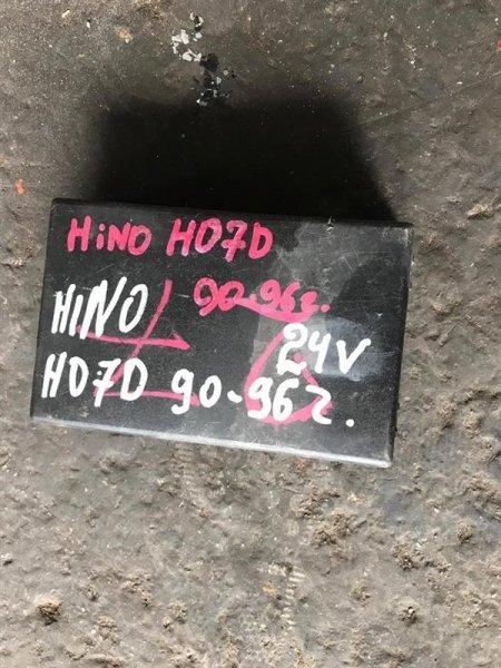 Крышка блока предохранителей Hino Ranger FD3H/FC1J H07D/J08C 89