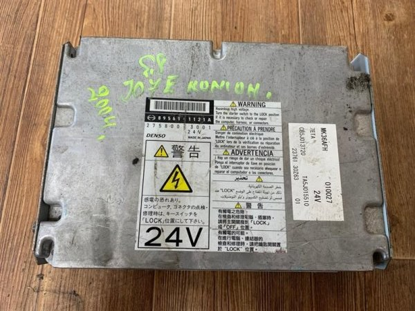 Компьютер Hino Ranger J07E-T 05