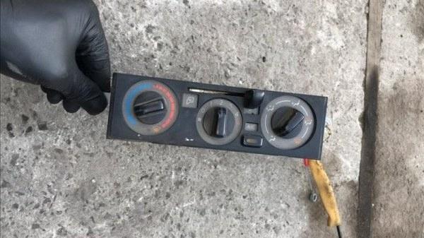 Блок управления печкой Nissan Atlas SQ1F24 QR20 08