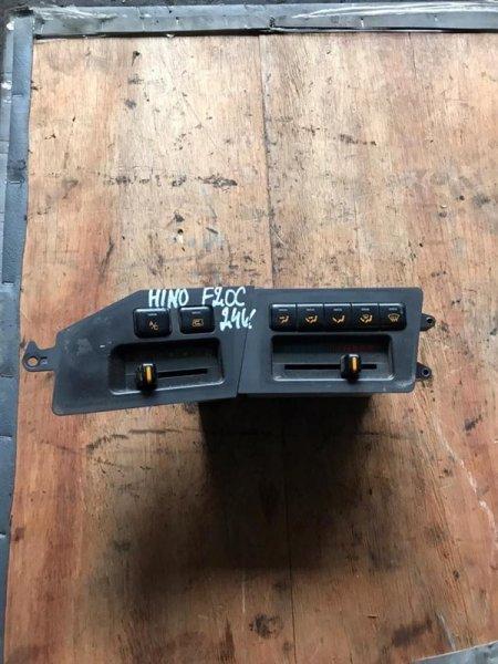 Блок управления печкой Hino Ranger FN3F/FR3F F20C 89