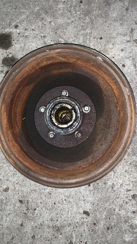 Барабан Toyota Dyna 14B/1W 89 передний