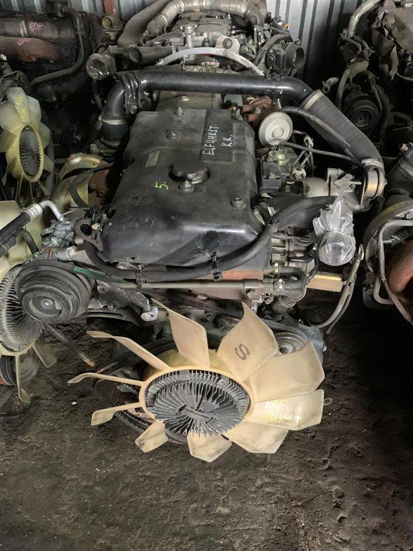 Двигатель Isuzu Elf NPR75 4HK1T 01