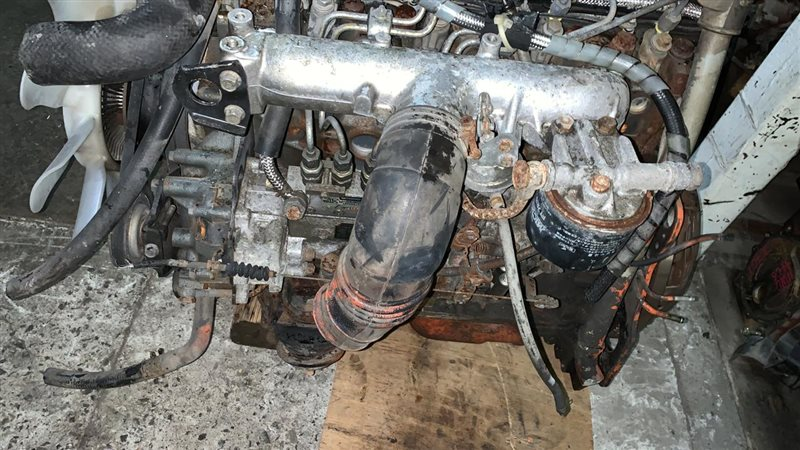 Двигатель Mmc Canter FE507-639 4D33 94