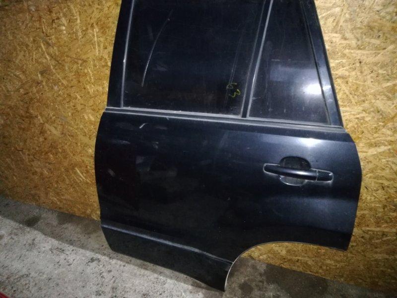 Стекло двери (глухое) Suzuki Grand Vitara TD54V J20A 2007 заднее левое