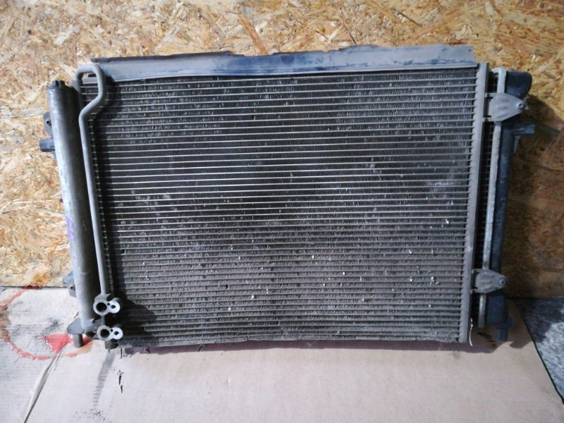 Радиатор кондиционера Volkswagen Passat B6 3C2 BVY 2006