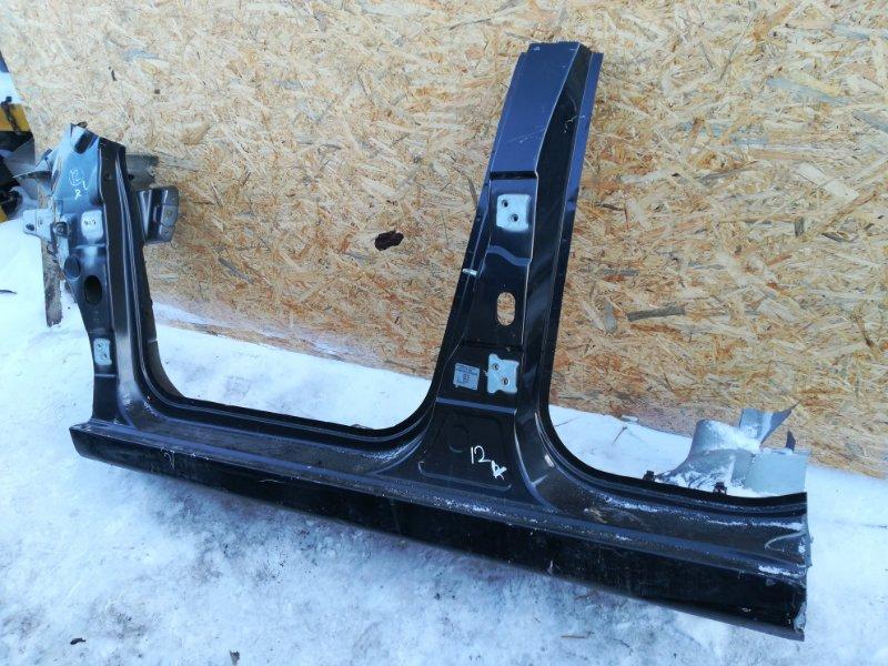 Порог Peugeot 207 WC ET3J4 2010 левый