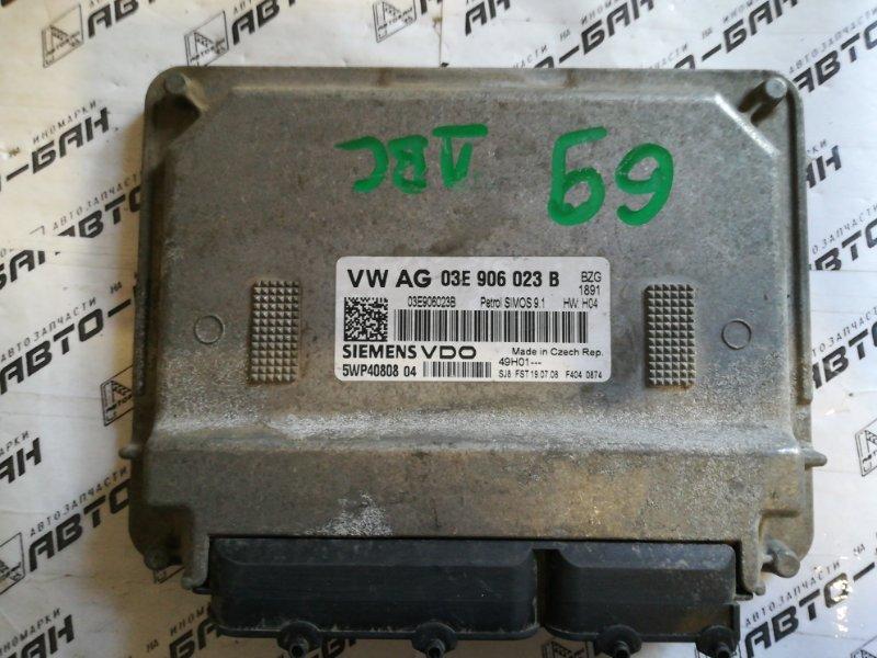 Блок управления двигателем Skoda Fabia MK2 BZG 2008