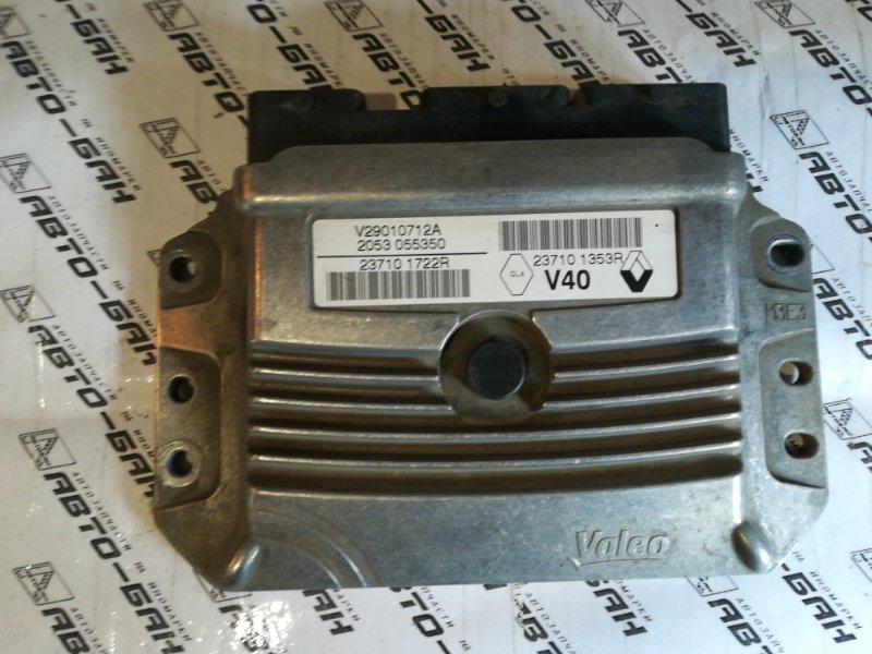 Блок управления двигателем Renault Fluence L30R K4M 2012