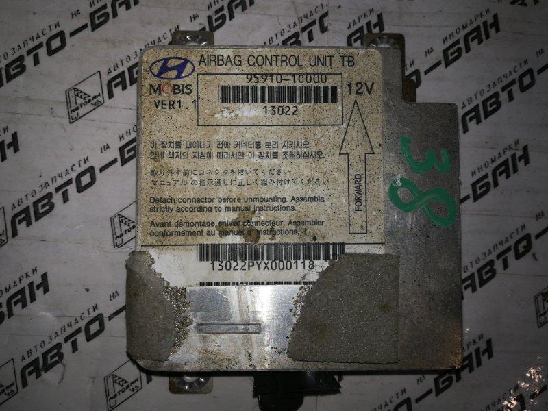 Блок управления аирбаг Hyundai Getz TB G4ED 2004