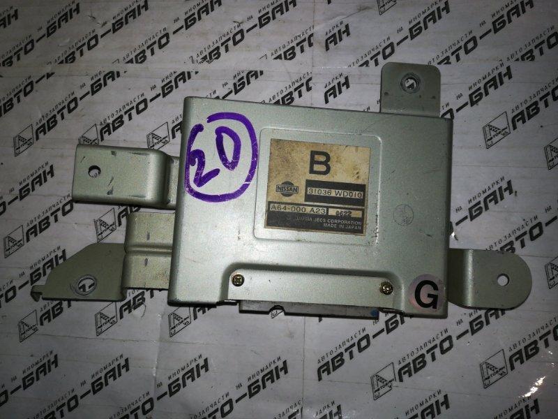 Блок управления акпп Nissan Ad VFY11 QG15 2000