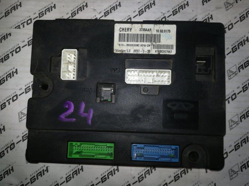 Блок комфорта Chery Very A13 SQR477F 2012