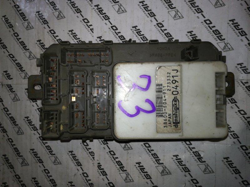Блок предохранителей Honda Partner EY8 D16A 1996