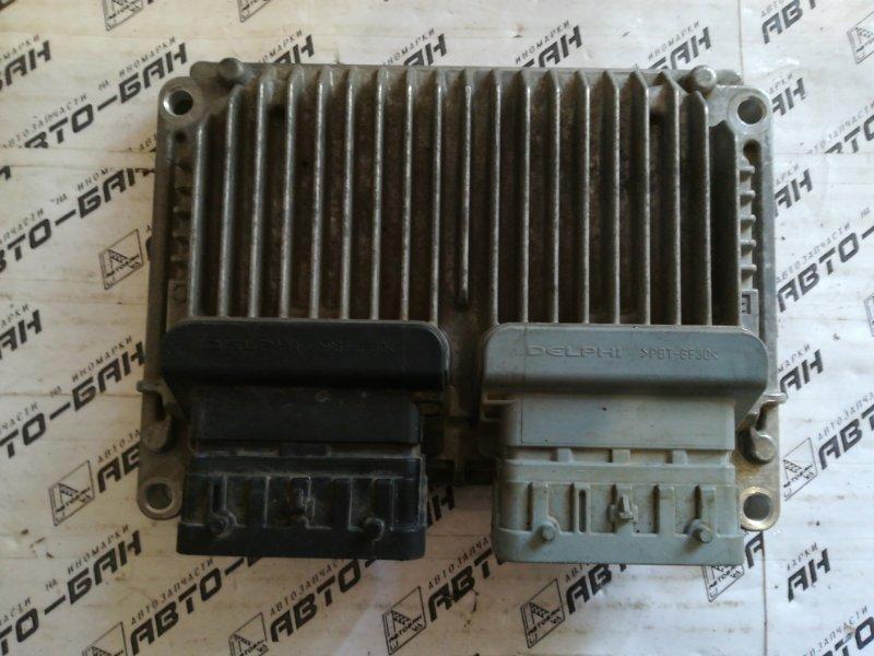 Блок управления двигателем Chevrolet Cruze J300 F16D3 2011