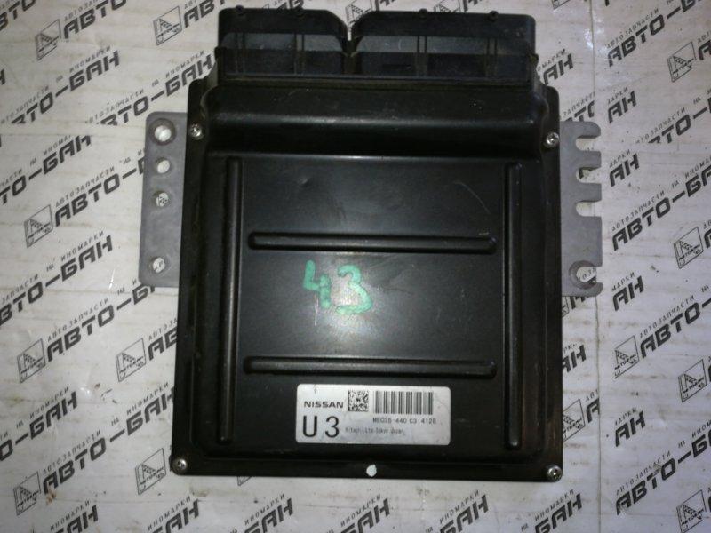 Блок управления двигателем Infiniti Fx35 S50 VQ35DE 2004