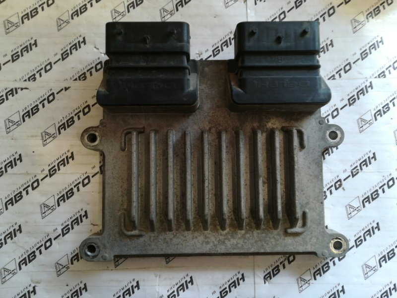 Блок управления двигателем Hyundai Ix55 EN G6DA 2009