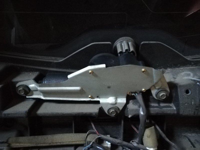 Мотор дворников Infiniti Fx35 S50 VQ35DE 2004 задний