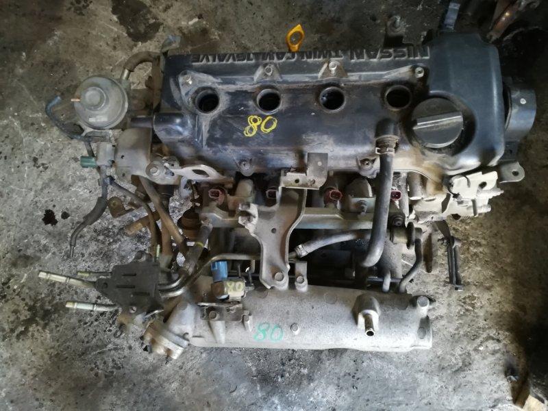Двигатель Nissan Sunny FB15 QG15 2000