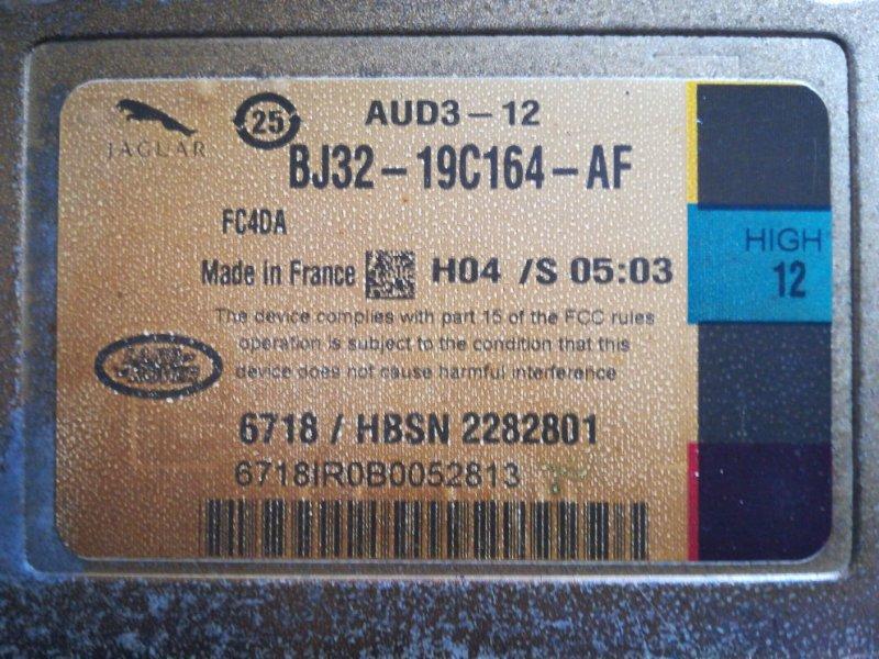 Усилитель акустической системы Jaguar Xf CC9 AJ6 2011