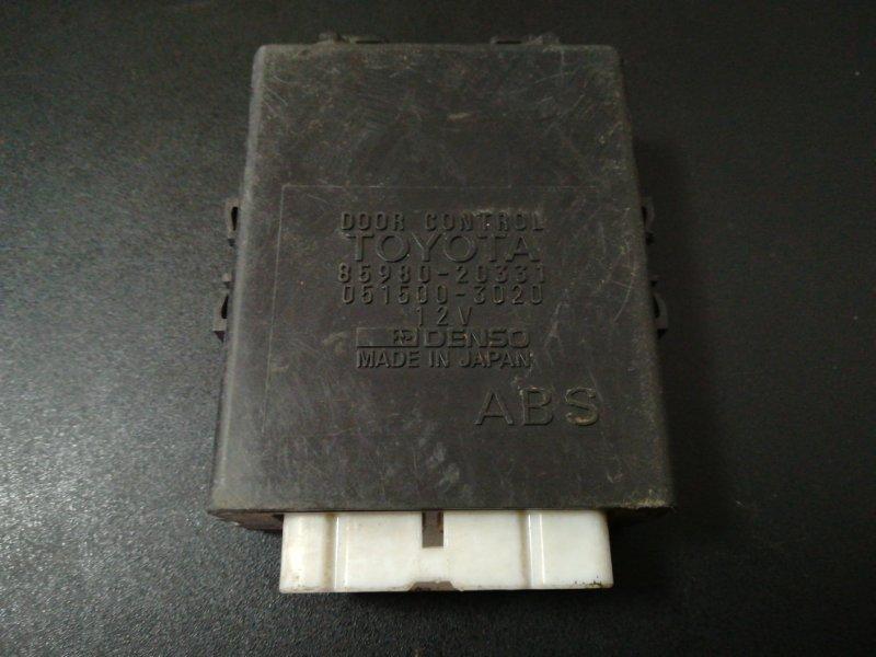 Блок управления дверьми Toyota Carina AT190 7A-FE 1996