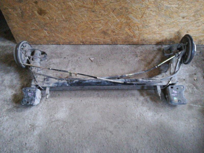 Балка подвески Chery Very A13 SQR477F 2012 задняя