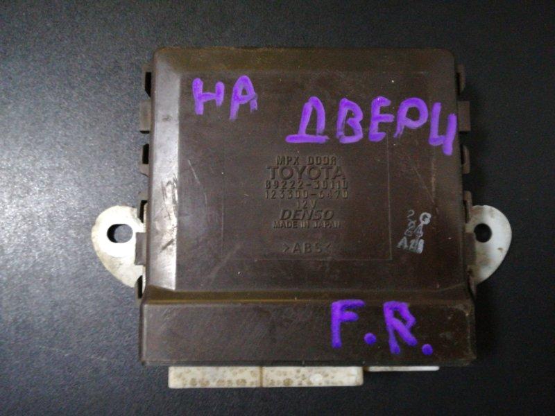 Блок управления дверьми Lexus Gs300 GRS190 3GR-FSE 2005