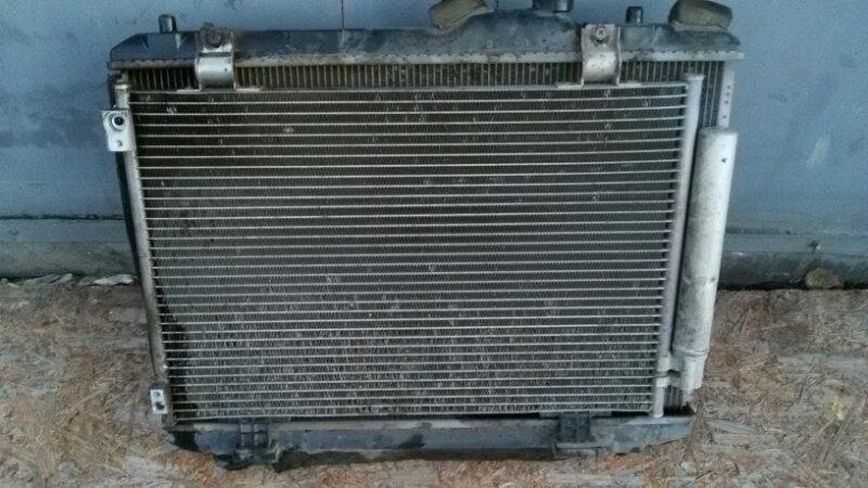 Радиатор кондиционера Suzuki Swift ZC71S K12B 2009