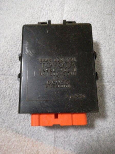Блок управления дверьми Toyota Raum EXZ10 5E-FE 1998