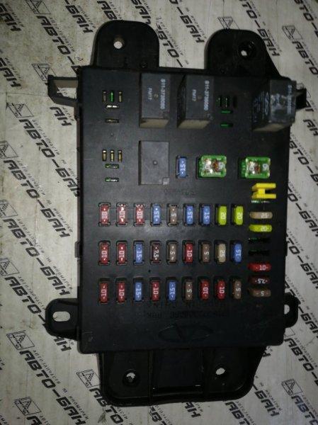 Блок предохранителей Chery Tiggo T11 SQRE4G16 2012