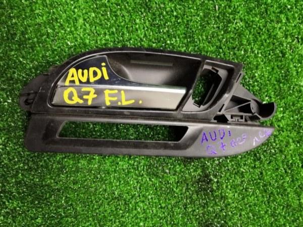 Ручка двери внутренняя Audi Q7 передняя левая