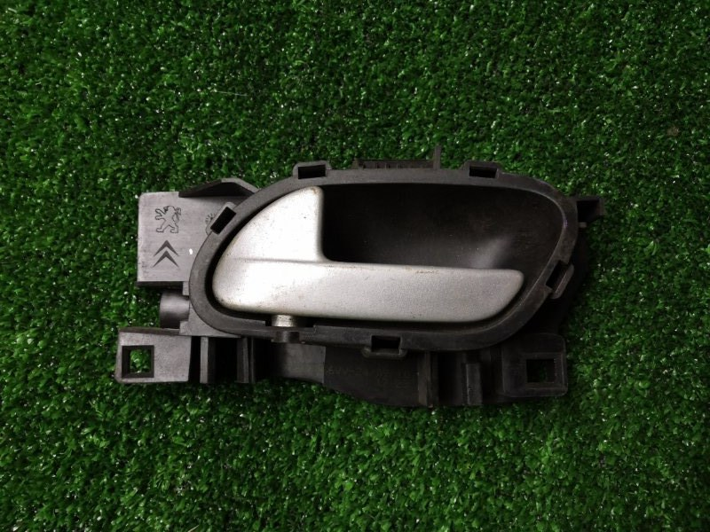 Ручка двери внутренняя Peugeot 207 WC ET3J4 2010 передняя левая