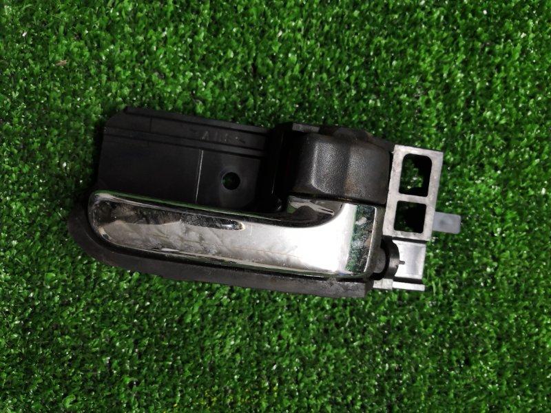Ручка двери внутренняя Toyota Wish ZNE14G 1ZZ-FE 2004 передняя правая